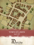 The Town of Lyryn - Town Map