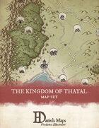Kingdom of Thayal - Regional Map
