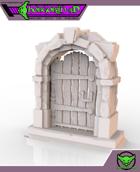 HG3D Wooden Door