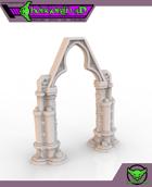 HG3D Gothic Archway