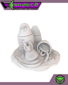 HG3D Egyptian Canopic Jars