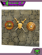 HG3D - Wall Shields - Raghaven Collection