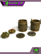 HG3D - Kitchen Barrels - Raghaven Collection