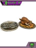 HG3D - Food Platter - Raghaven Collection