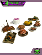 HG3D - Food Clutter - Raghaven Collection