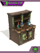HG3D - Drink Cabinet - Raghaven Collection