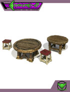 HG3D - Tavern Tables - Raghaven Collection