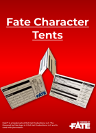 Fate Character Tents