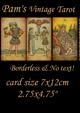 Pam's Vintage Tarot size
