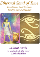 Ethernal Sand of Time Tarot bridge size!