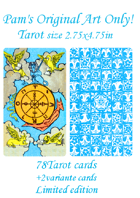 Pam\'s Original Art Only Tarot size