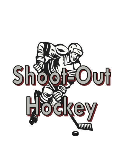 Shoot-Out Hockey Fast Action Deck PREMIUM STOCK White Backs