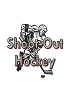 Shoot-Out Hockey Fast Action Deck EMBOSSED STOCK White Backs