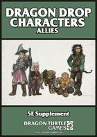 Dragon Drop Characters: Allies