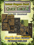 Instant Dungeon Crawl: Quick Lairs 2