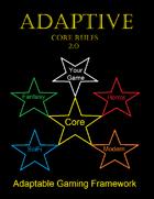 Adaptive Game Design 2.0 Core Rules