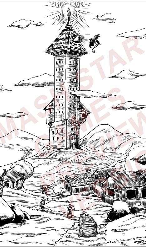 Fantasy Location: Mage Tower