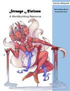 Strange Nations: A Worldbuilding Resource