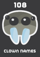 108 Clown Names