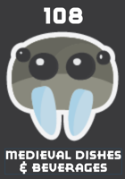 108 Medieval English Beverages, Dishes, & Snacks