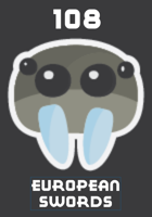 108 Swords, Polearms, & Other Sharp Things from Europe