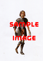 Character Stock Art: Zombie with Plate Armor