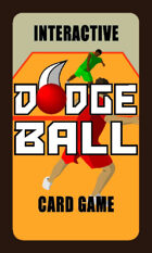 Dodgeball Interactive Card Game - Large