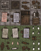Adventure Realm Map Tiles - Town and Wilderness Extras
