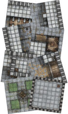 Adventure Realm Castle Map Tiles