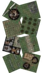 Adventure Realm Village Map Tiles