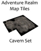 Adventure Realm Cavern Map Tiles