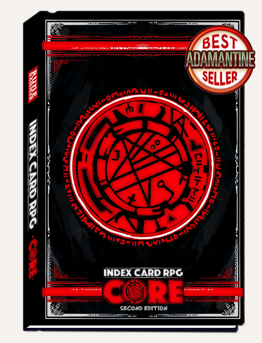 INDEX CARD RPG Core 2E - RUNEHAMMER GAMES | DriveThruRPG com