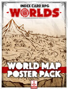 ICRPG WORLDS Map Posters