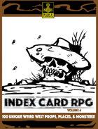INDEX CARD RPG Vol. 4