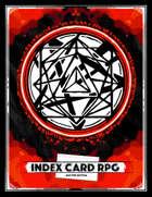 Index Card RPG: Master Edition