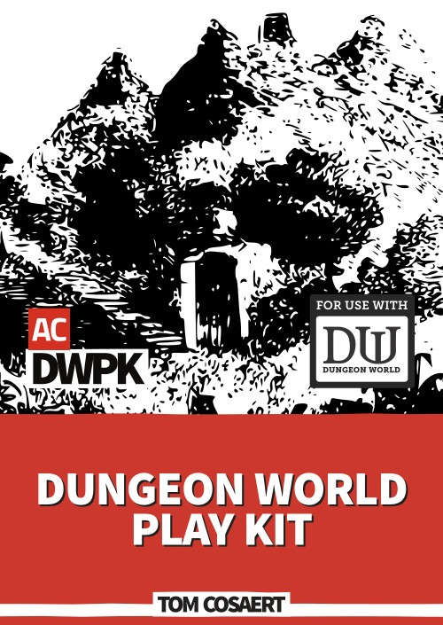 Dungeon World Play Kit - Alpha Core | DriveThruRPG com