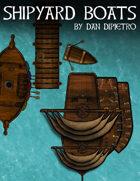 Shipyard Boats