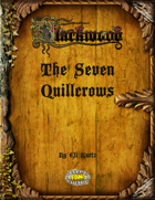 Blackwood: The Seven Quillcrows