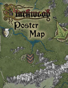 "Blackwood 12""x18"" Poster Map"
