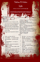 Slashers & Victims Light