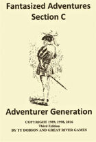 Fantasized Adventures - Adventurer Generation