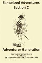 Fantasized Adventures - Adventurer Generation