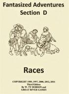 Fantasized Adventures - Races of Ba'Kara