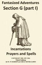 Fantasized Adventures - Incantations (Volume I)
