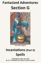 Fantasized Adventures - Incantations (Volume II)