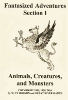 Fantasized Adventures - Animals, Creatures and Monsters
