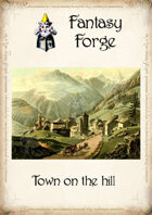 Town on the hill