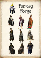 Male Robed Characters