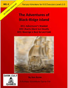 Adventures of Black Ridge Island BR: 1-3