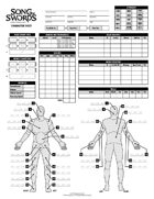 Song of Swords Character Sheet